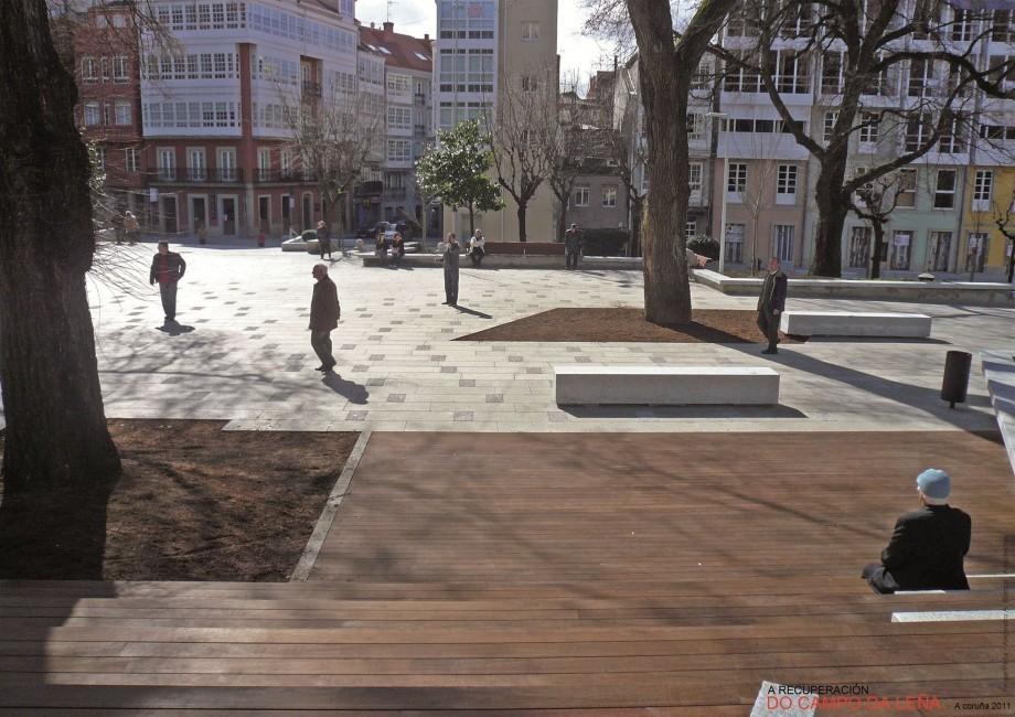 Recuperación do Campo da Leña. A Coruña