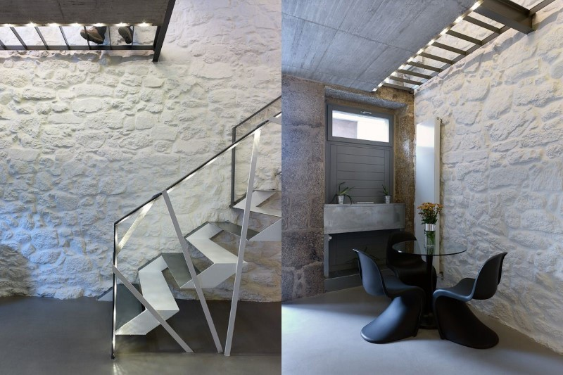 Rehabilitación de vivienda y estudio de arquitectura. Ourense