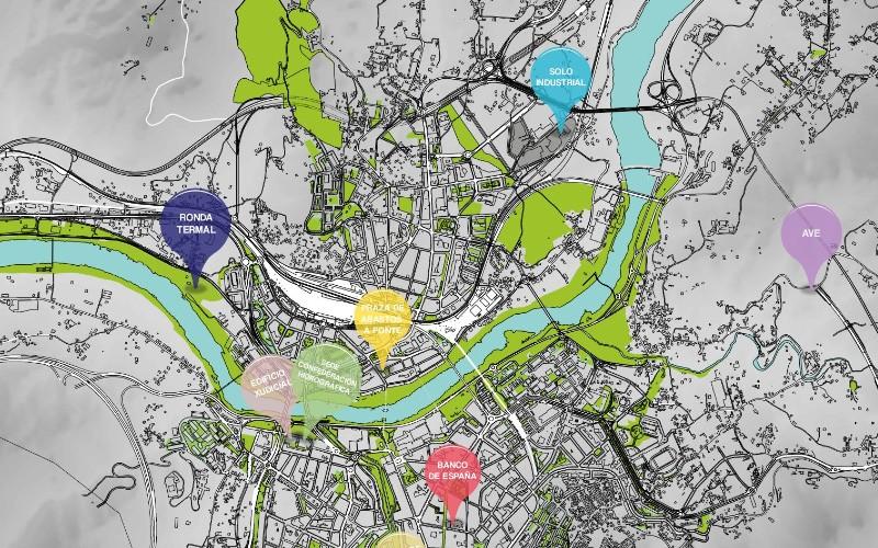 Cartografía Municipal do Concello de Ourense