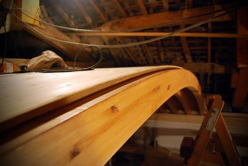 Reparación de la estructura de cubierta y construcción de nueva bóveda. Rianxo