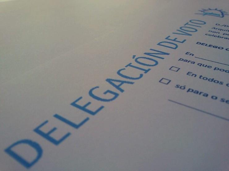 COMUNICADO. Votación Xunta Xeral Extraordinaria 19 de xuño