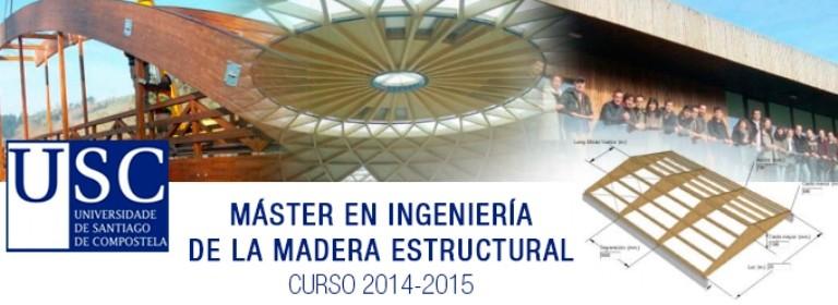 Master en Enxeñería da Madeira Estrutural