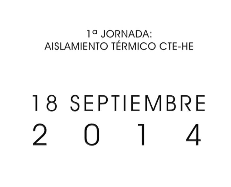 1ª Jornada de aislamiento térmico. Ourense