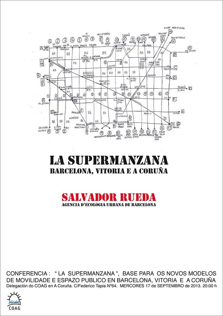 Conferencia Salvador Rueda. A Coruña