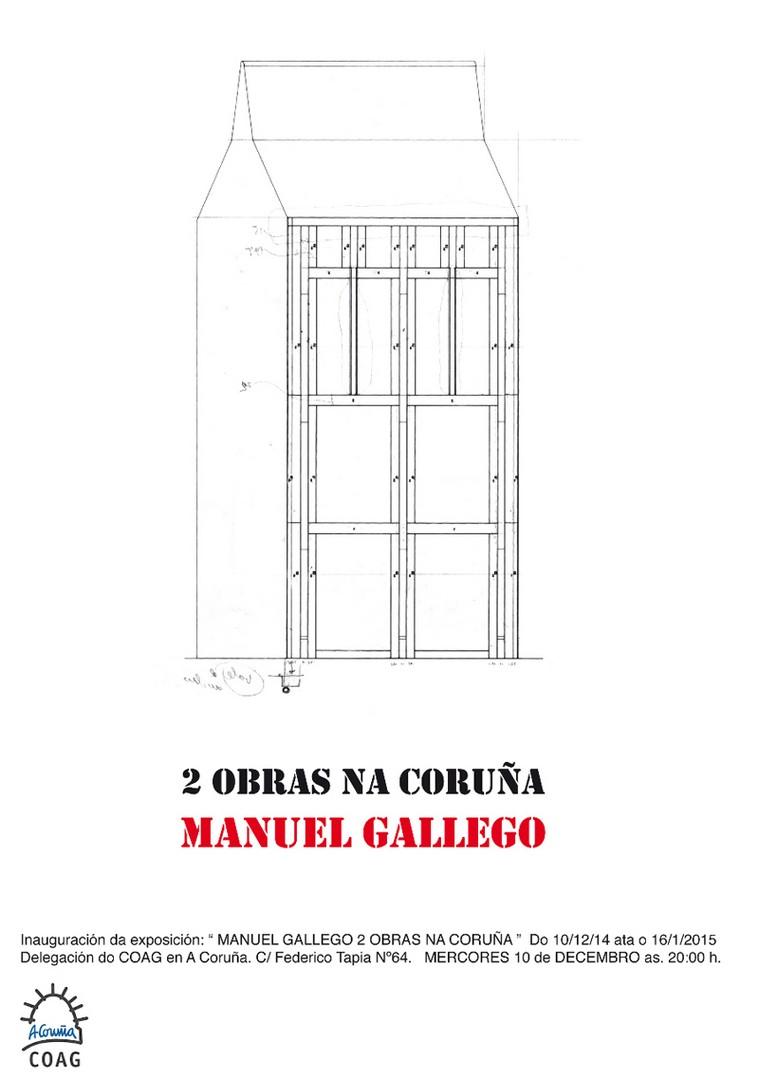 Exposición. Manuel Gallego. A Coruña
