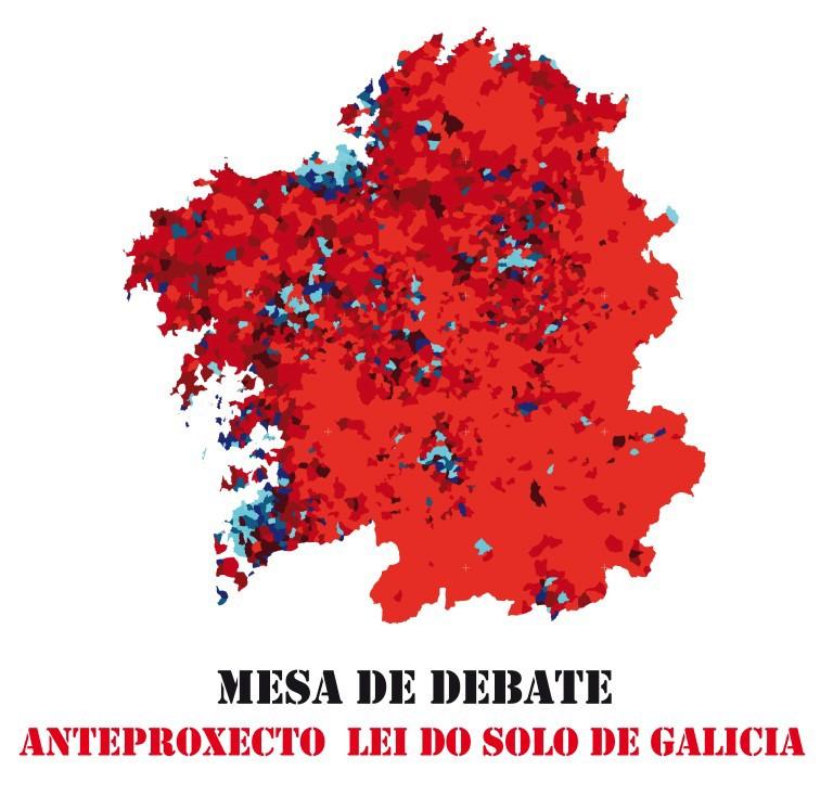 Mesa de Debate. Anteproxecto da lei do solo. A Coruña