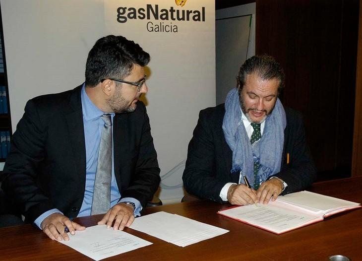 Convenio con Gas Natural Galicia