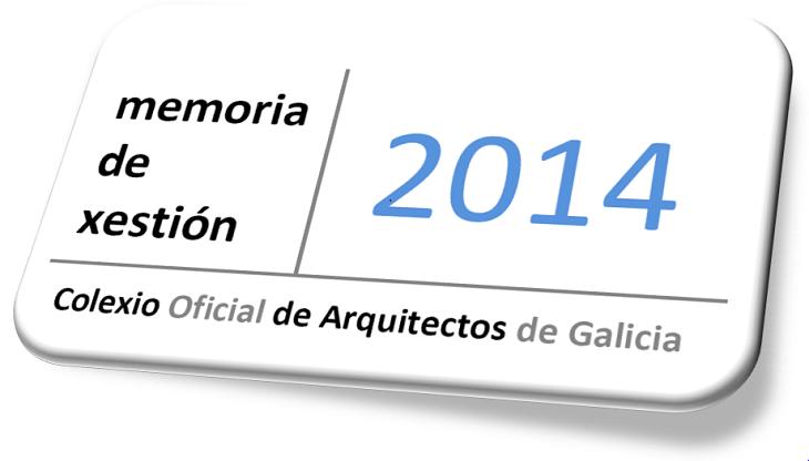 Memoria de Xestión 2014