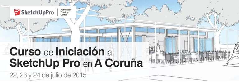 Curso de iniciación a SketchUp Pro en A Coruña