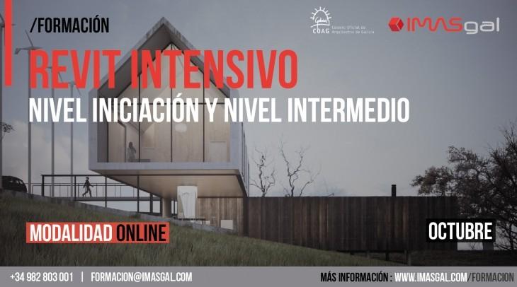 REVIT INTENSIVO (I y II) | OCTUBRE | CONVENIO COAG – IMASGAL