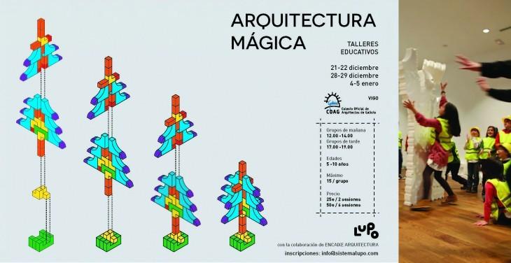 Arquitectura Máxica. Obradoiros educativos