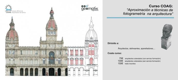 Curso de Aproximación a técnicas de fotogrametría en la arquitectura