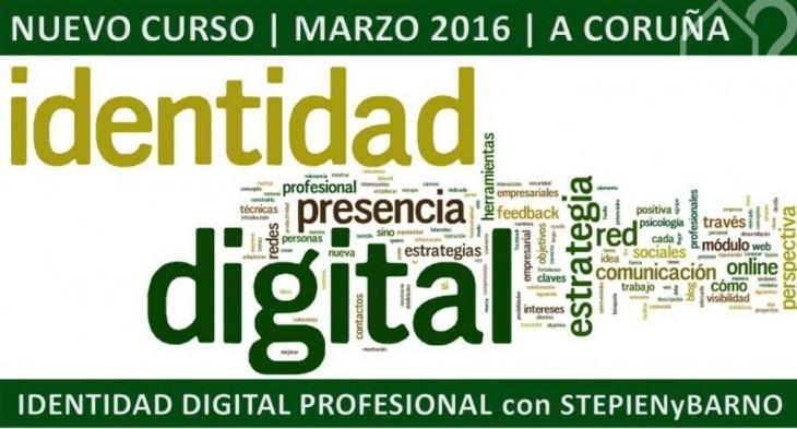 Curso-Taller «Crea tu identidad digital profesional» con STEPIENYBARNO
