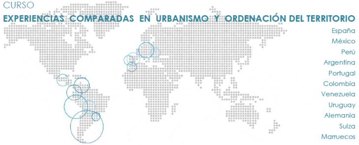 """Curso """"Experiencias urbanísticas comparadas en Urbanismo e Ordenación do Territorio"""""""