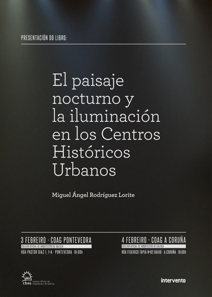 """Presentación do libro """"El paisaje nocturno y la iluminación de los centros históricos urbanos"""""""