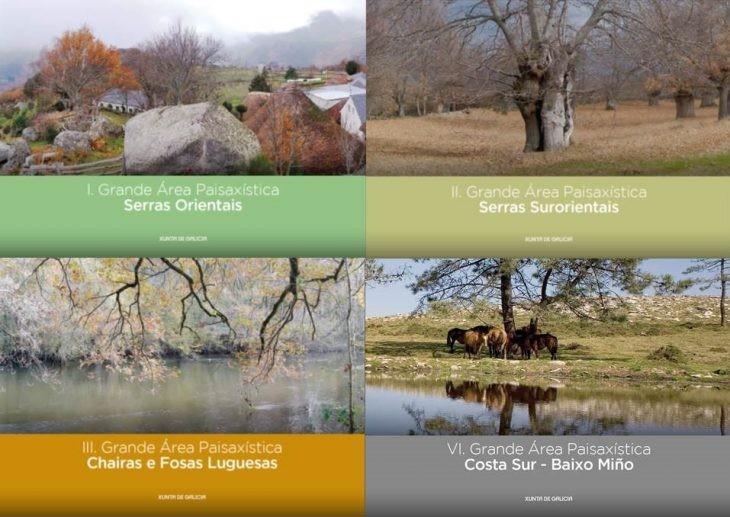"""Convócase o """"Concurso para o desenvolvemento dunha guía  de cor e materiais nas doce grandes áreas paisaxísticas do catálogo das paisaxes de Galicia"""""""