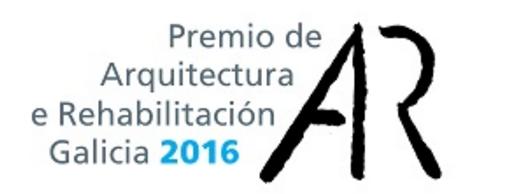 Invitación ao acto de entrega dos Premios de Arquitectura e Rehabilitación de Galicia 2016