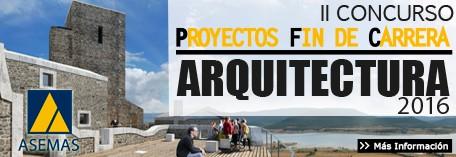 II Edición Concurso PFC de Arquitectura ASEMAS 2016