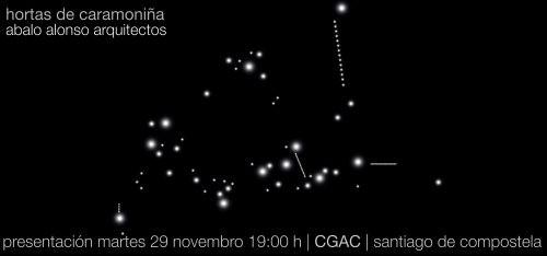"""Presentación no CGAC da monografía """"Hortas de Caramoniña"""" de Abalo & Alonso Arquitectos"""
