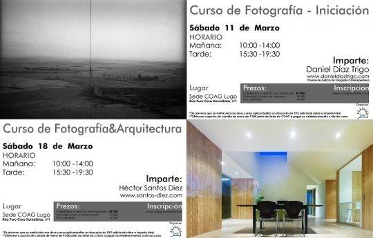 Cursos de Iniciación á Fotografía e Fotografía na Arquitectura