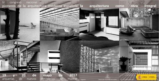 IV Congreso Pioneros de la arquitectura moderna española