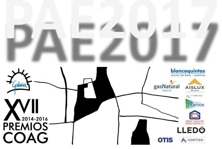 Candidaturas do COAG ao Premio de Arquitectura Española 2017