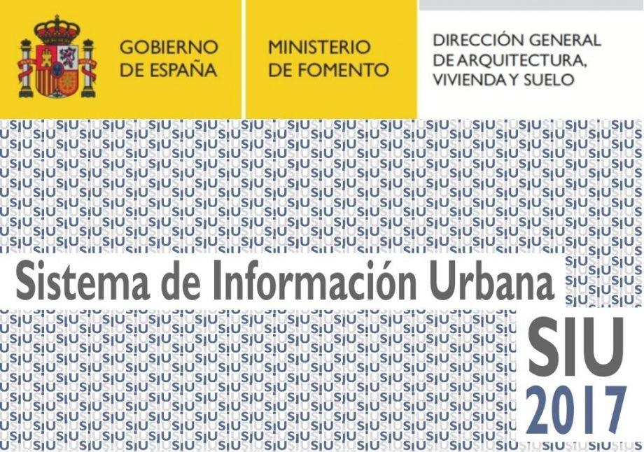 """Publicación """"Sistema de Información Urbana (SIU) 2017"""""""