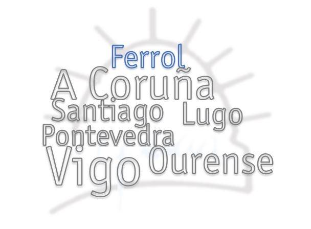 Peche das oficinas da Delegación de Ferrol o día 26 de xaneiro