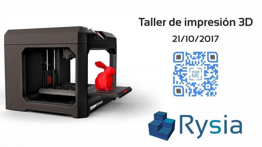 Rysia. Taller Impresión 3D
