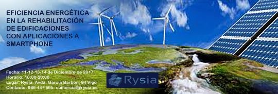 Rysia. Curso de Eficiencia Energética en la Rehabilitación de la Edificación con aplicaciones a Smartphone