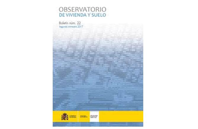 Boletín estadístico del Observatorio de Vivienda y Suelo 2º trimestre de 2017
