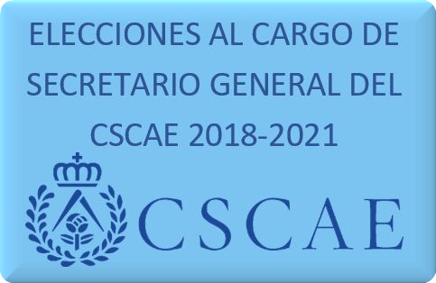 Eleccions cargo Secretario CSCAE