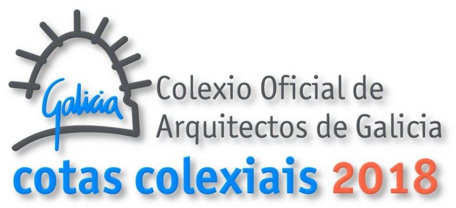 Cotas colexiais 2018. Apertura do prazo de configuración