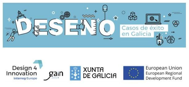Convocatoria de casos de éxito de Deseño en Galicia