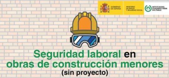 Publicacion Seguridad Laboral en obras menores