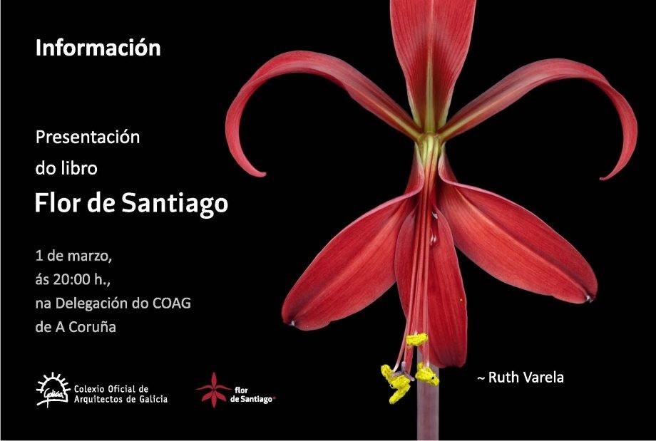 """Presentación do libro """"Flor de Santiago"""""""