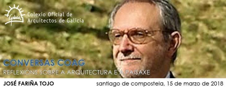"""Conferencia de José Fariña Tojo: """"¿Hacia dónde van las ciudades del siglo XXI?"""""""