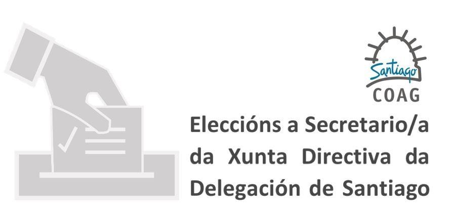 Convocatoria de eleccións ao cargo de Secretario/a da Delegación de Santiago