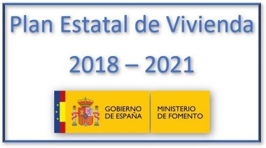 Publicación en el BOE del Plan Estatal de vivienda 2018 – 2021