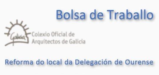 Bolsa traballo Ourense