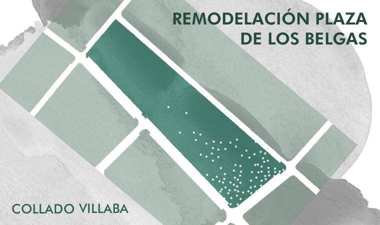 Concurso de proyectos con intervención de Jurado para la Remodelación de la Plaza de los Belgas de Collado Villalba