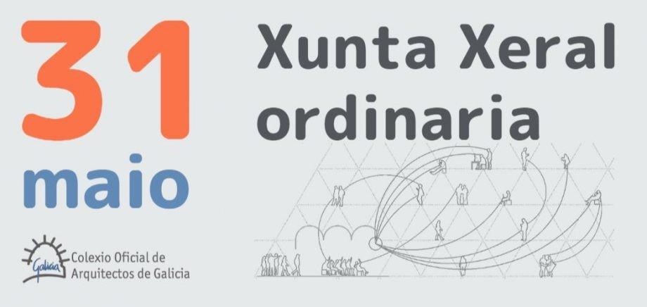 Participación telemática na Xunta Xeral ordinaria do 31 de maio