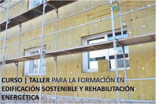 Curso | taller para a formación en edificación sustentable. A Coruña. Últimos días.