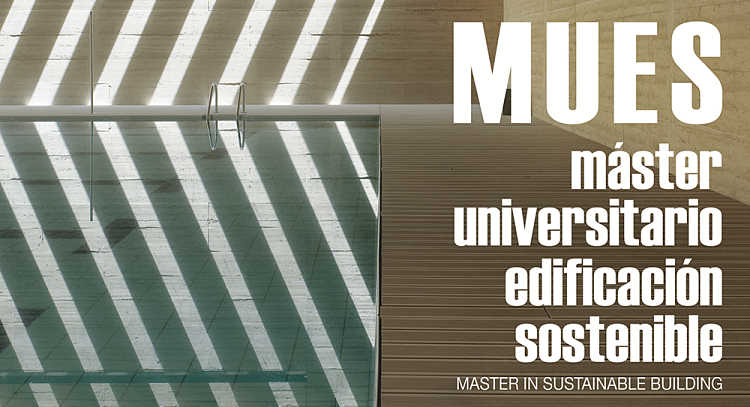 Máster universitario en edificación sostenible de la Universidad de A Coruña