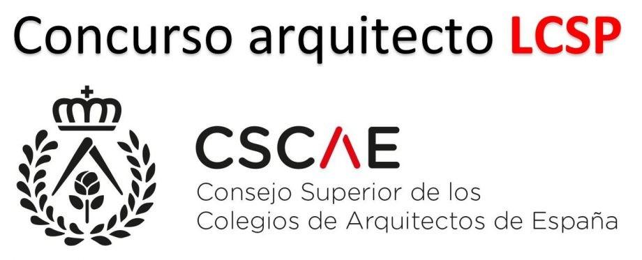 Convocatoria concurso de arquitecto para Ley de Contratos del Sector Públco