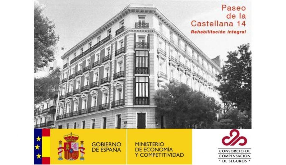 Concurso rehabilitación edificio Consorcio de Compensación de Seguros en Madrid