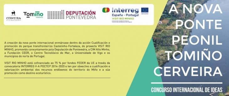 """Delegación de Vigo. Exposición """"A nova ponte peonil Tomiño Cerveira"""""""