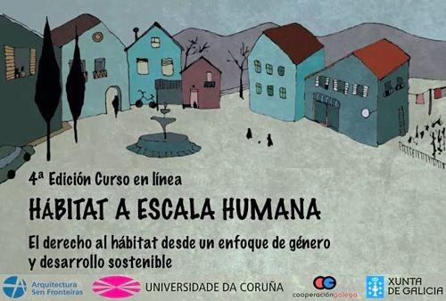 4ª Edición Curso en línea 'Hábitat a escala humana' de Arquitectura Sen Fronteiras
