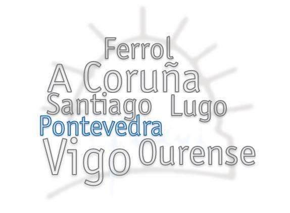 Horario da Delegación de Pontevedra semana do 20 ao 24 de agosto