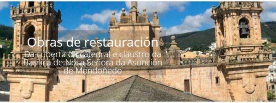 Visita ás obras da Catedral de Mondoñedo